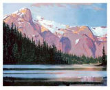 Late Afternoon - McCannell Lake Collectable Print by Robert Genn