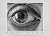 Eye Posters by M. C. Escher