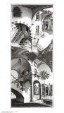 Alto e basso Arte di M. C. Escher
