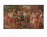 The Battle of San Romano Affischer av Paolo Uccello