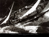 Marjetta - Veteran Boat Rally, Port Cervo Posters by Carlo Borlenghi