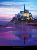 Mont St. Michel, France Art by Philip Enticknap