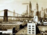 Airship NYC, 1938 Print