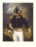 Ceremonial Dress Print by Thierry Poncelet