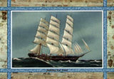 Sailing Far East Poster by Portland Gallery