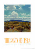 Through the Chamisa, Santa Fe Opera, 1989 Prints by E. Martin Hennings