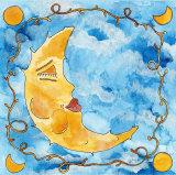 Sleeping Moon Posters by C. Gandini
