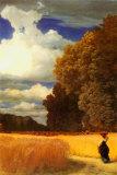 Robert Zund - The Harvest Obrazy