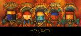 Hommage aux anciens Affiches par Tony Abeyta