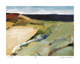 Aerial Horizon Study 19-2 Collectable Print by Barbara Rainforth