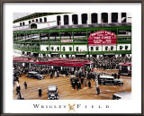 Wrigley Field, Chicago, Illinois Posters by Darryl Vlasak