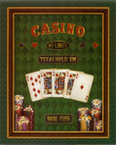 Texas Hold &#39;Em Posters by Daphne Brissonnet