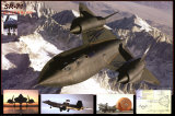 SR-71 Blackbird Posters