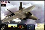 F/A-22 Raptor Posters