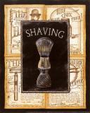 Grooming Shaving Affiches par Charlene Audrey
