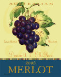 Merlot Prints by Pamela Gladding