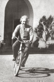 Albert Einstein Bicycle Poster