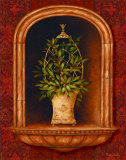 Olive Topiary Niches I Prints by Pamela Gladding