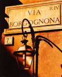 Via Borgognona Print by James T. Murray