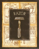 Grooming Razor Poster by Charlene Audrey