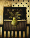 Poire Posters by Kimberly Poloson