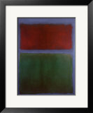 Earth and Green Prints by Mark Rothko