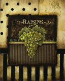 Raisins Posters by Kimberly Poloson