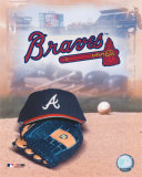 Atlanta Braves - '05 Logo / Cap and Glove Photo