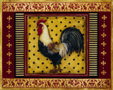 Provence Rooster II Prints by Kimberly Poloson