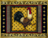 Provence Rooster I Print by Kimberly Poloson