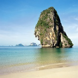 Tropical beach, Thailand Photographic Print
