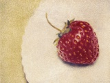 Lydia's Strawberry Photographic Print by Jennifer Kennard