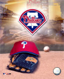 Philadelphia Phillies - '05 Logo / Cap and Glove Photo