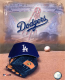 Los Angeles Dodgers - '05 Logo / Cap and Glove Photo