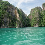 Thai coastline Photographic Print