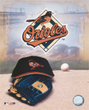 Baltimore Orioles - '05 Logo / Cap and Glove Photo