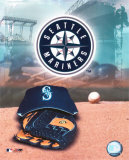 Seattle Mariners - '05 Logo / Cap and Glove Photo