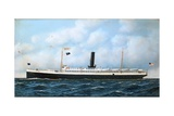 Steamer Giclee Print by Antonio Jacobsen