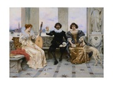 The Recital Giclee Print by Frederico Andreotti