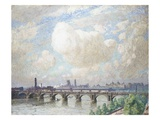 Waterloo Bridge Giclee Print by Emile Claus