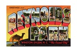 Greeting Card from Reynolds Park Giclee Print