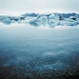 Bergy Bits Near Pack Ice Photographic Print