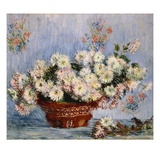 Chrysanthemes Giclee Print by Claude Monet