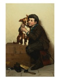 Against His Will Giclee Print by John George Brown