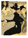 Divan Japonais Reproduction procédé giclée par Henri de Toulouse-Lautrec