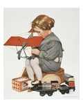 Mother's Hero Giclee Print by Sarah Stilwell Weber