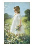 The &quot;Daisy Girl&quot; Giclee Print