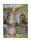 Fairy Ring Giclee Print by Florence Harrison