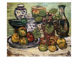 Still Life with Apples Giclee Print by Maurice Brazil Prendergast