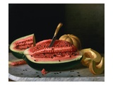 Ripe Melons Giclee Print by John F. Francis